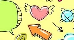 卡通元素背景图片壁纸