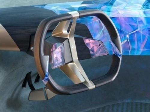 宝马概念车配3D打印方向盘