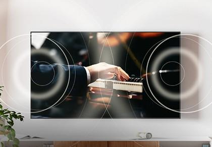 视觉和听觉的完美结合,音画合一OLED!