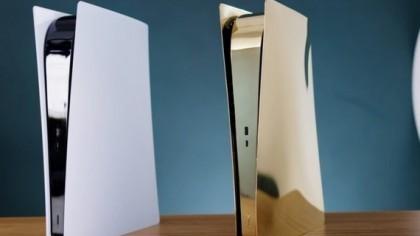 国外大神打造黄铜外壳PS5