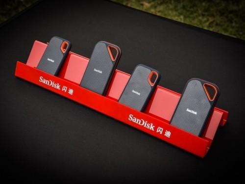 防水、防尘、防震 闪迪移动固态硬盘新品发布