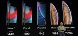 面临三重压力 苹果拿出iPhone XS也没用