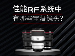 佳能RF系统中有哪些宝藏镜头?