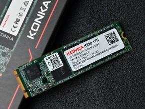康佳K520固态硬盘大图来袭