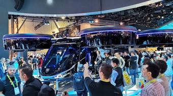 自动驾驶直升机飞进了CES展馆