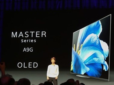 OLED旗舰A9G领衔 CES索尼新品一览