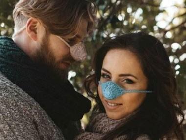 英国人发明暖鼻罩造型奇葩抗感冒?