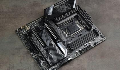 微星MPG Z590 GAMING CARBON WiFi主板评测