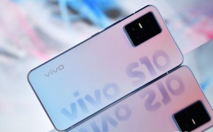 后盖变色手机见过吗?自拍神器vivo S10 Pro图赏