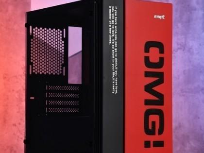 游戏悍将 OMG-MATX 机箱 设计非常新颖