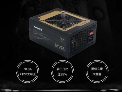 就是让你稳 航嘉MVP K850金牌旗舰电源