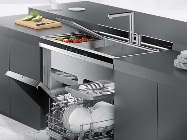 火星人集成洗碗机:方寸之间 解决纷繁家务!