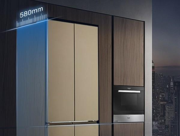松下纤雅·自由嵌入系列新品冰箱发布,引领厨居美学设计新潮流