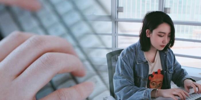 萝莉身御姐心?偶然相遇TAB60机械键盘